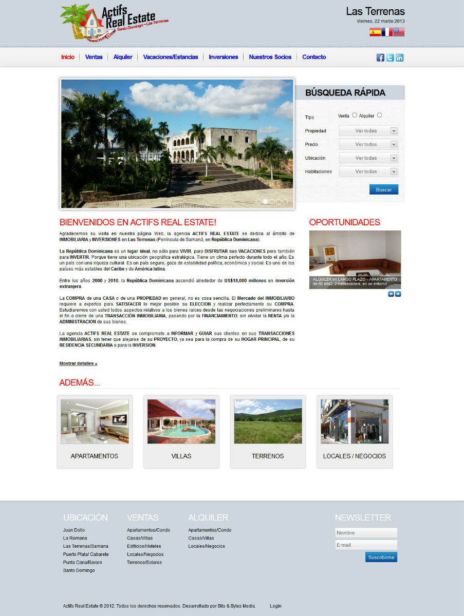 Actifs Real Estate (República Dominicana)